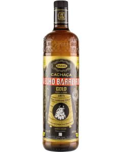Velho Barreiro Gold Cachaca