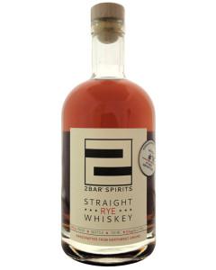 2Bar Spirits Straight Rye Whiskey