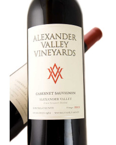Alexander Valley Vineyards Estate Cabernet Sauvignon 2017