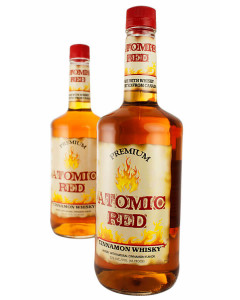 Atomic Red Cinnamon Flavored Whisky