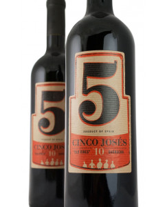 Cinco 5 Joses Old Vines Garnacha 2015