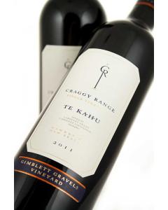 Craggy Range Vineyards Gimblett Gravels Vineyard Te Kahu 2011