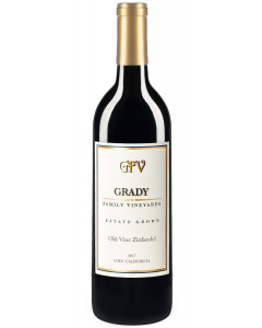 Grady Old Vine Zinfandel Family Estate 2017