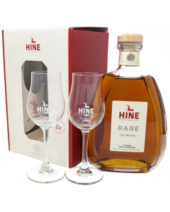 Hine VSOP W/Glasses 2020