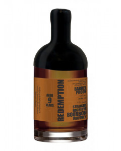 Redemption Barrel Proof High Rye 9 Year Old Whiskey