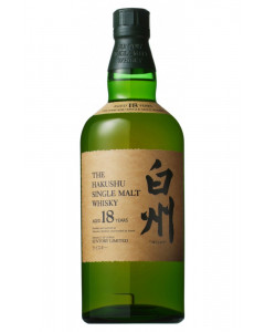 Suntory Hakushu 18 Year Whiskey