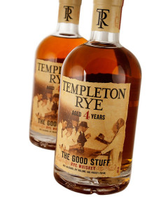 Templeton 4 Year Old The Good Stuff Rye Whiskey