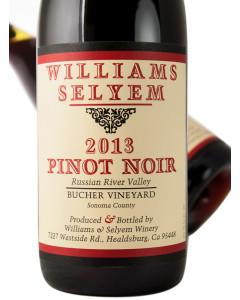 Williams Selyem Bucher Vineyard Pinot Noir 2013