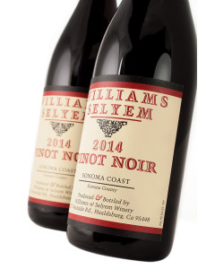 Williams Selyem Sonoma Coast Pinot Noir 2014