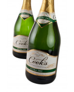 Cook's Extra Dry California Champagne