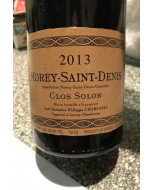 Philippe Charlopin Morey-St-Denis Clos Solon 2013