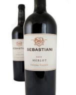 Sebastiani Vineyards Sonoma County Merlot 2016