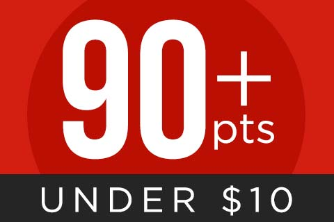 Shop 90+ point wine for $10 and under